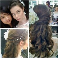 Professional mobile makeup and hair services