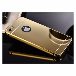 IPHONE 6/6S LUXURY MIRROR GOLD ALUMINUM CASES 5 / 5S / 5C 6 PLUS