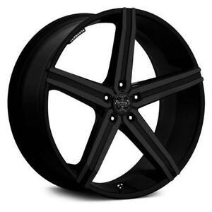 New! Matte Black 20 w/tires! 300 300c magnum charger challenger