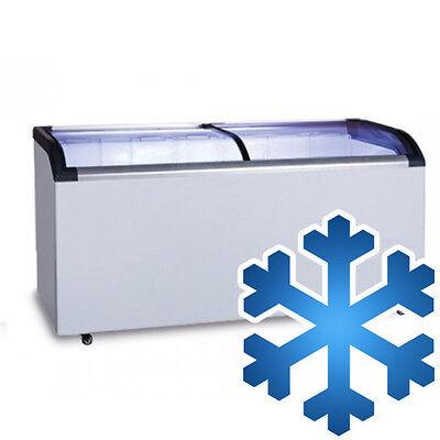 [TTS335] Tiefkühltruhe 355 Liter / Glas