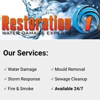 Water Damage or Mould? Contact Us Today For A FREE Estimate!