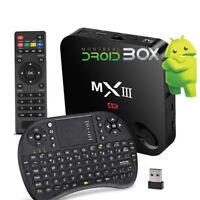 MXIII MX3 MX III Kodi XBMC Quad Core 2GB Android TV Box + RII