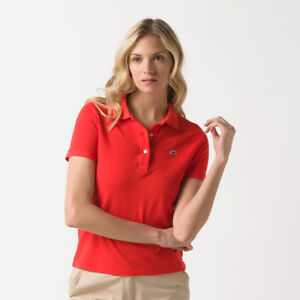 2 Womens Polo Shirts (Lacoste and Ralph Lauren)