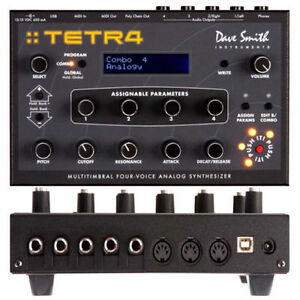 Dave Smith Instruments - TETRA  (4 Voices /100% Analog Synth)