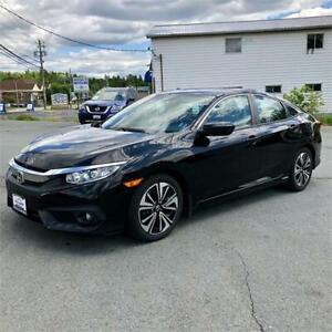 2016 Honda Civic Sedan EX-T w/back up camera/bluetooth