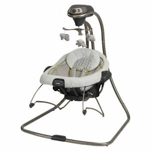 Used Graco Duet Connect 2-in-1 Swing and Bouncer