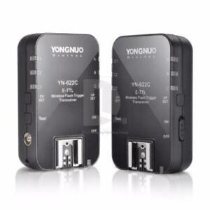YONGNUO Wireless TTL Flash Trigger YN-622C High Speed Canon