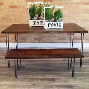 Hairpin Coffee / Desk / Console / Dining Table / Bench / Stool Kitchener / Waterloo Kitchener Area image 2