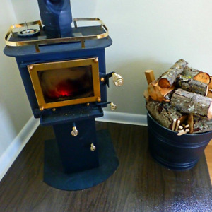 CB-1210 GRIZZLY Cubic Mini Wood Stove