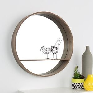 New Scandi style wooden mirror with shelf North Sydney North Sydney Area Preview