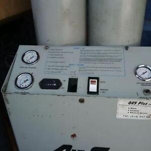 Air Sep AS-80 Oxygen Generator w. Storage Tank + Booster!
