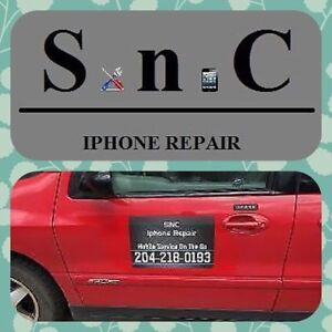 iPhone 5,5c,5s,6,6 Plus Cracked Screen Repair (WE COME TO YOU)