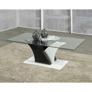 TEMPERED GLASS COFFEE TABLE (ND 98)