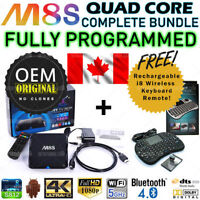 ★ M8S M8 Android TV Box OEM Amlogic Quad Core + Keyboard ★