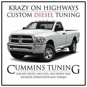 Krazy on Highways Dodge Ram Cummins EGR DPF & SCR Delete Tuning