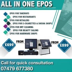 Keep your business running smoothly with our BRAND NEW EPOS FOR TAKEAWAY SHOP TILL