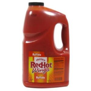 1 Gallon Franks Red Hot Wings Buffalo Wing Sauce *RESTAURANT EQUIPMENT PARTS SMALLWARES HOODS AND MORE*
