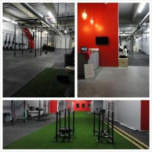 High Quality 4 x 6 x 3/4 Rubber Gym Flooring - Great for CrossFit and Olympic Lifting!