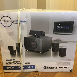 OPPORTUNITY - NEW Granger Bessel Pro Home Theater System G-23