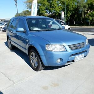 2006 Ford Territory SY Ghia AWD Blue 6 Speed Sports Automatic Wagon St James Victoria Park Area Preview