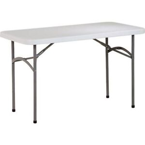Heavy duty foldable table! Only $39.99!