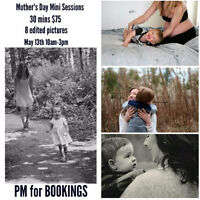 Mothers day Mini sessions