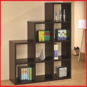 "Espresso Finish Bookshelf - ""AVA"" @Yvonne's Furniture"