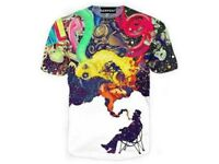 Artistic Jazz Funny 3D Print Casual T-Shirt