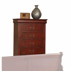 BRAND NEW!! BROWN-CHERRY FINISH 5 DRAWERS CHEST CLEARANCE