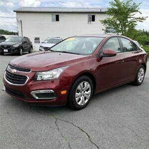 2015 Chevrolet Cruze 1LT/back up camera/bluetooth/remote start