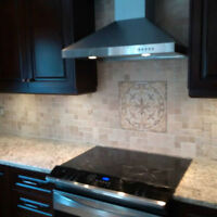 Affordable Services: Backsplashes & Feature Walls