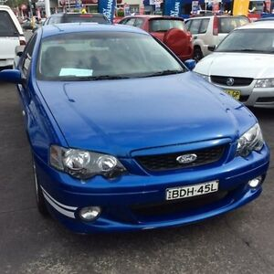 2005 Ford Falcon BA MkII XR6 Shockwave 4 Speed Auto Seq Sportshift Utility Cardiff Lake Macquarie Area Preview