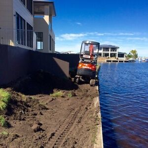 Tight Access Earthmoving Specialist (diggers-bobcats-tippers etc) Chermside Brisbane North East Preview