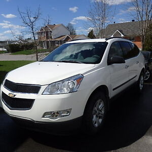 2012 Chevrolet Traverse LS VUS.