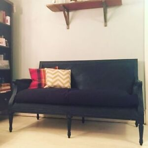 Vintage Couch / Repainted, new cushion