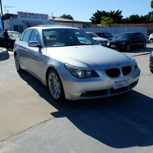 2005 BMW 525i E60 Steptronic Silver 6 Speed Sports Automatic Sedan St James Victoria Park Area Preview