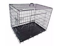 Brand new dog /puppy cages, different sizes available