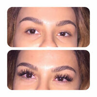 Eyelash Extensions for ONLY $80 Unlimited lash count