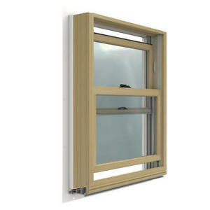 "Used Single or Double Hung Windows w/frames, 24""w X 30"""