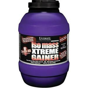 ISO MASS XTREME GAINER 10.11LBS - PROTEINE GAIN MUSCULAIRE - ULTIMATE NUTRITION