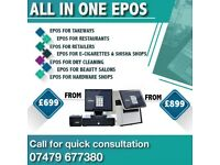 Latest Software epos system brand new with warranty for takeaway fast food