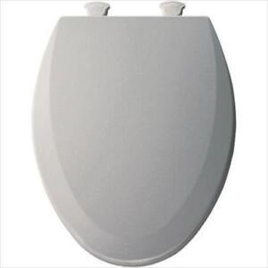 Bemis 1500EC062 Molded Wood Elongated Toilet Seat With Easy Clean and Change Hinge