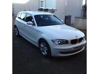 BMW 1 SERIES 1.6 116I SE 5d 121 BHP (white) 2008