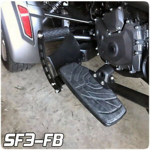 SpyderExtras Foot Rest FloorBoard Extensions for the Can-Am Spyder F3 (Pair)