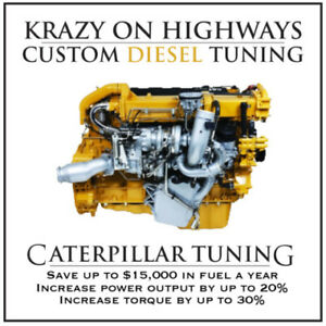 Krazy On Highways Caterpillar Tuning, DPF & CGI (EGR) Delete