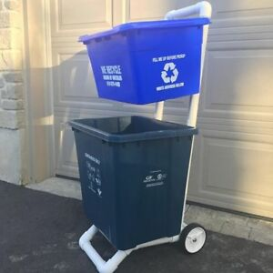 Recycling Bin Cart