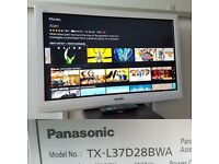 PANASONIC TX-L37D28BWA 37 INCH FULL HD 1080P LED TV (WALL MOUNTABLE NO STAND)