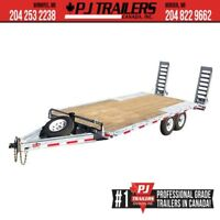 2019 Galvanized 96 x 20' 8 I-Beam Deckover Trailer Winnipeg Manitoba Preview