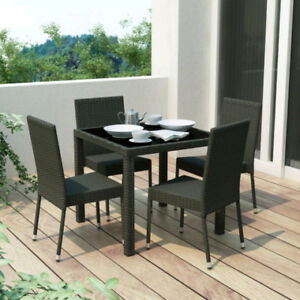 Patio Table - 5 pieces dining set