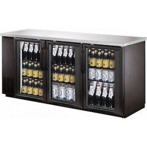 BACK BAR & BEER FRIDGE GLASS DOOR <--AMAZING $$$$